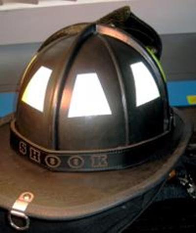 Helmets for Fire helmet name lettering