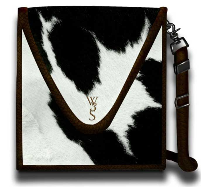 Hair On Cowhide Purse