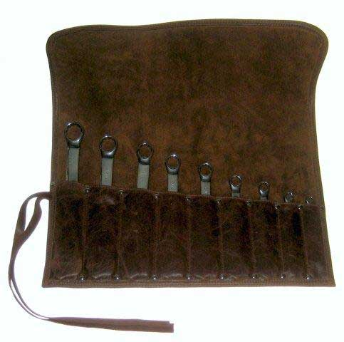 Roll Up Tool Pouch Leather