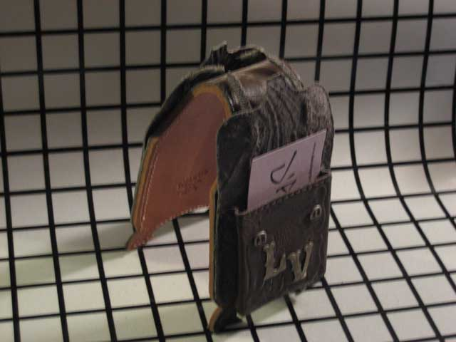 Saddle Bag Biz Card Holder