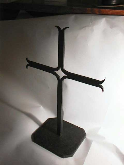 Wrought Iron Kristoff Cross Standing